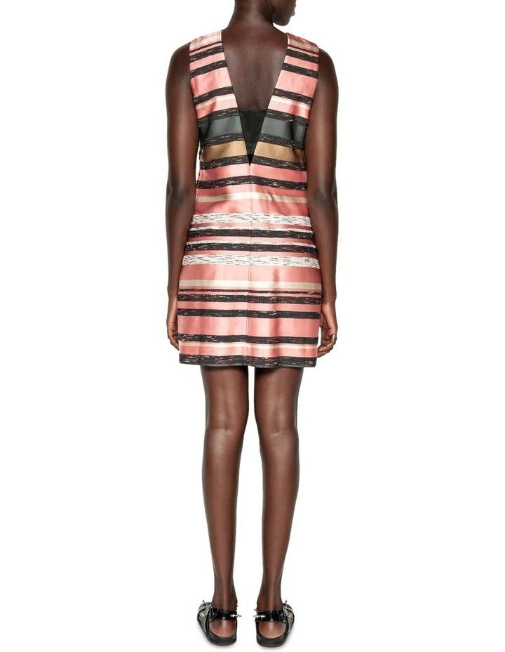 Stripe Jacquard Shift Dress image 3