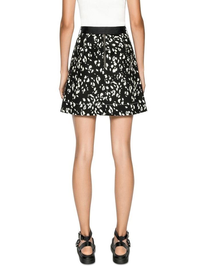 Belted Animal Mini Skirt image 3