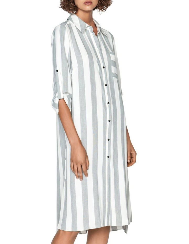 Soft Stripe Shirt Dress image 2