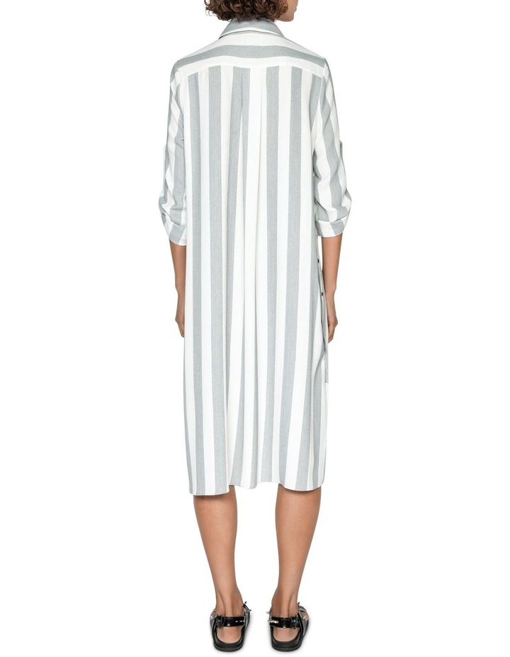 Soft Stripe Shirt Dress image 3