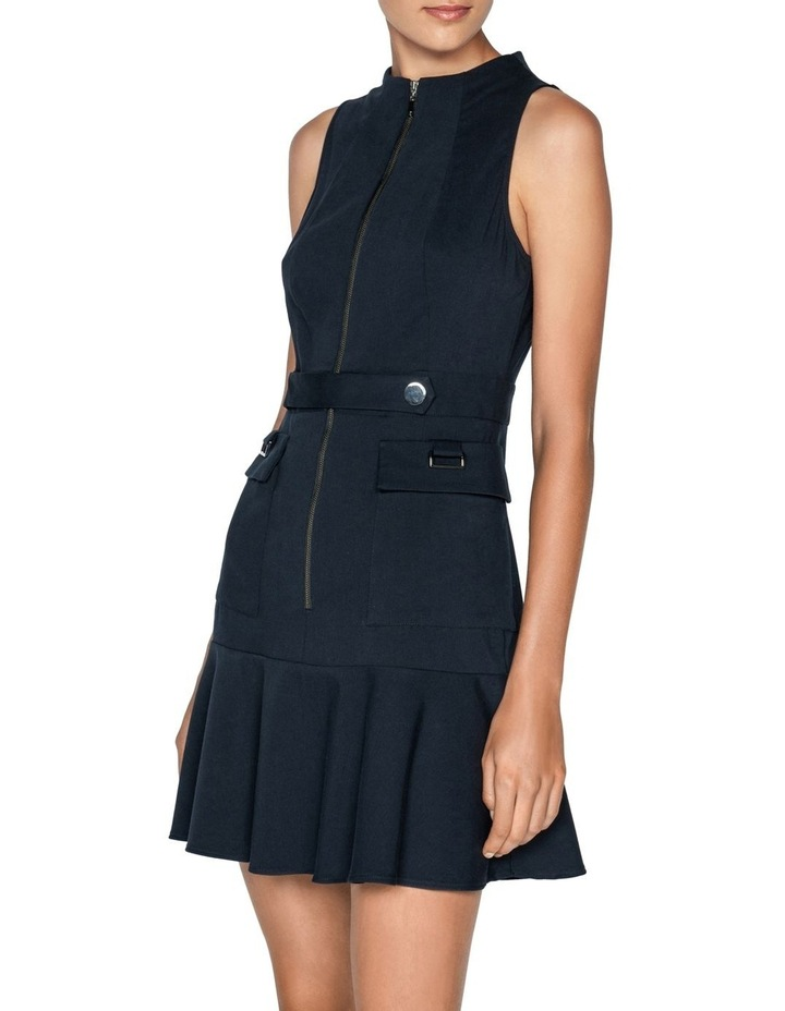 Cotton Dobby Utility Mini Dress image 2
