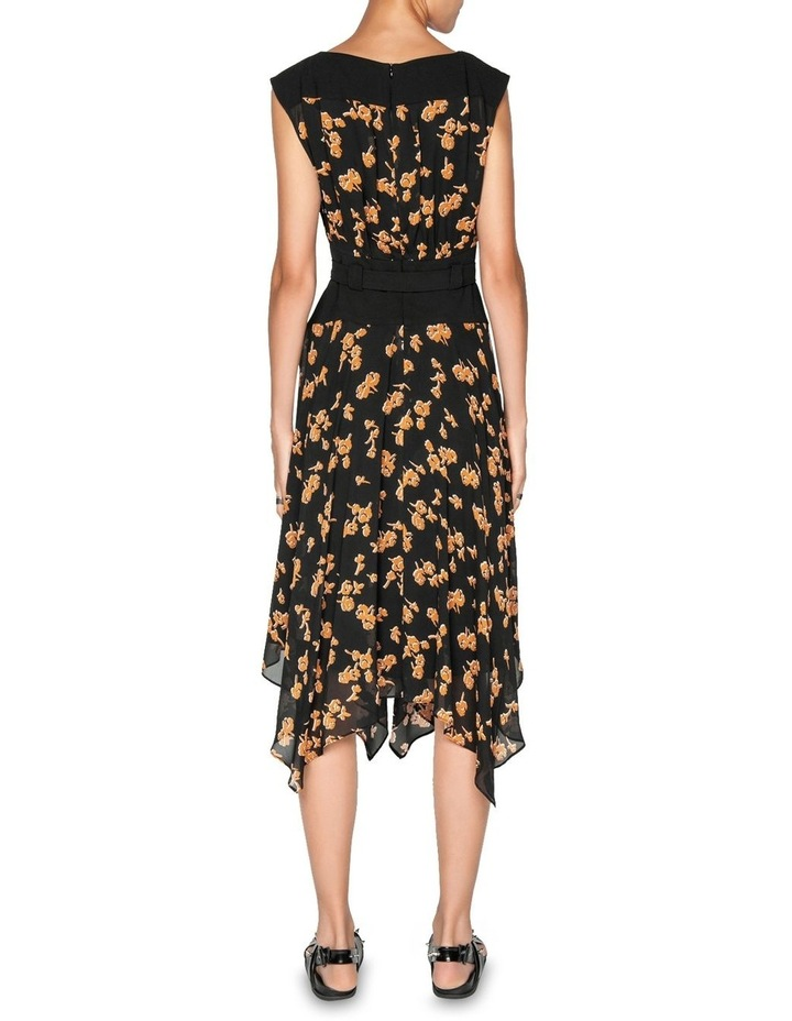 Rosette Viscose Midi Dress image 3