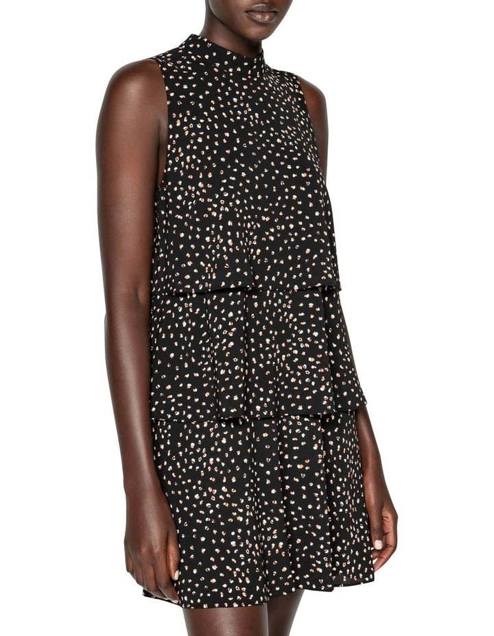 Abstract Spot Tiered Frill Dress image 2