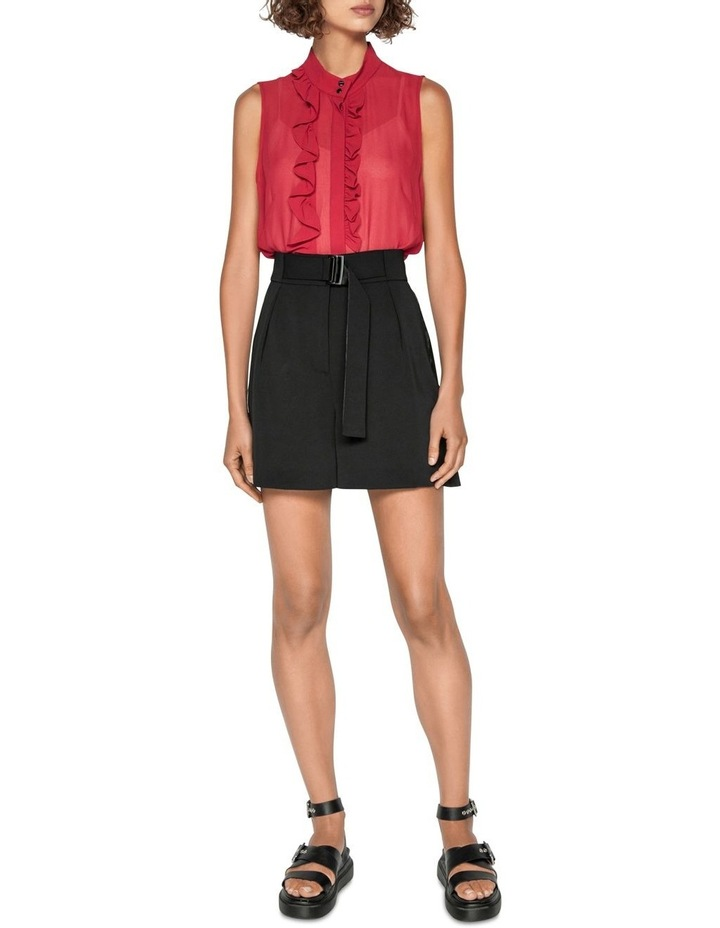 Frilled Stand Collar Blouse image 1