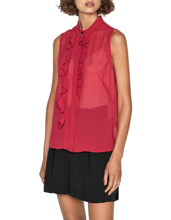 Frilled Stand Collar Blouse image 2