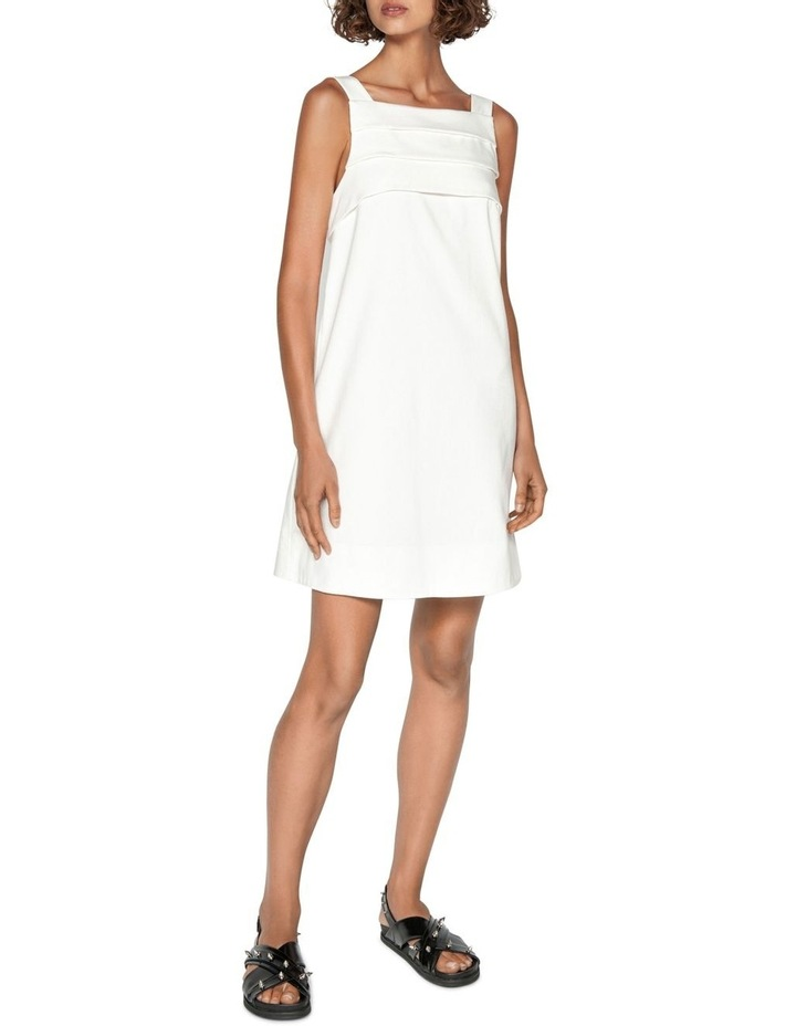 Cotton Dobby Tuck Front Dress image 1