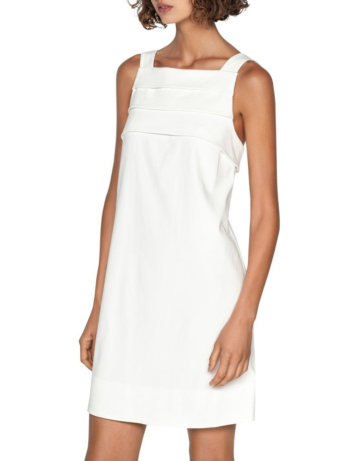 Cotton Dobby Tuck Front Dress image 2