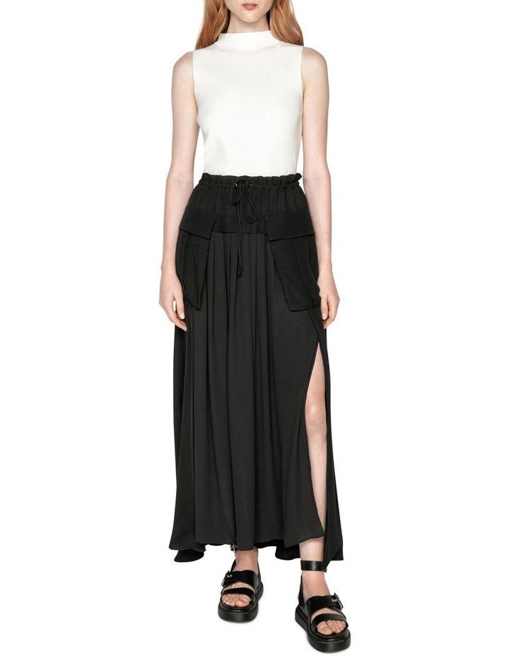 Viscose Cargo Maxi Skirt image 1