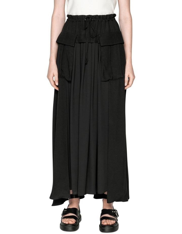Viscose Cargo Maxi Skirt image 2