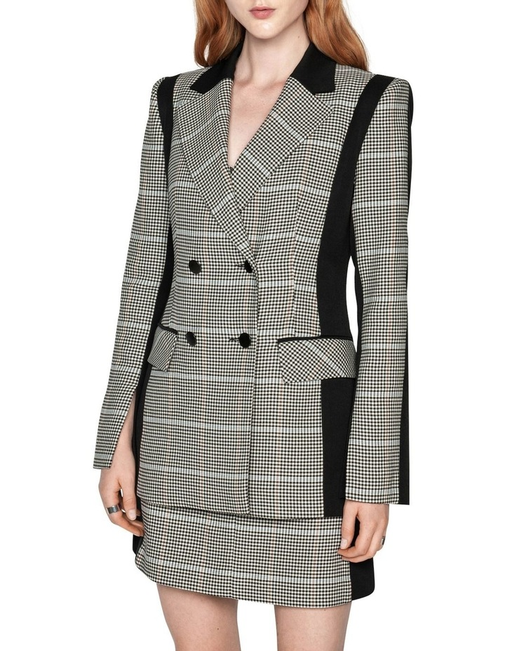 Gingham Double Breasted Blazer image 2