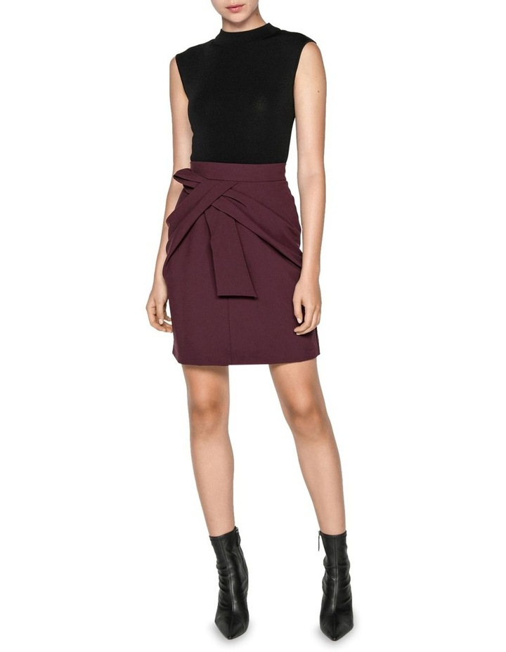 Twist Waist Mini Skirt image 1