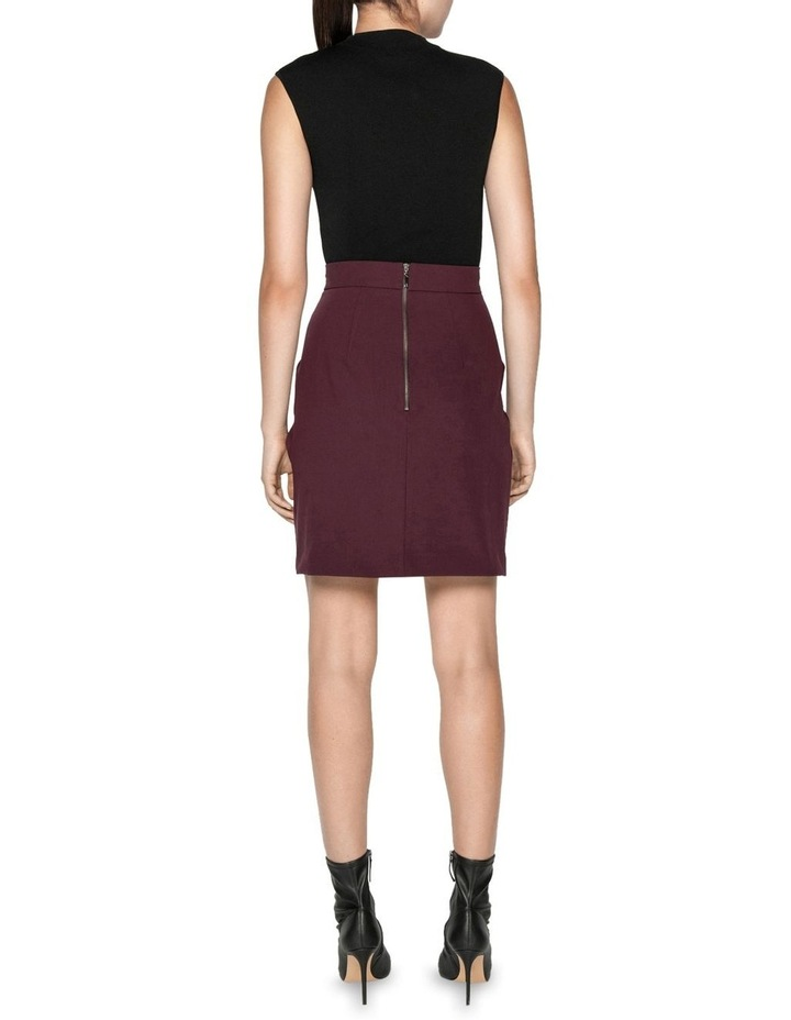 Twist Waist Mini Skirt image 3