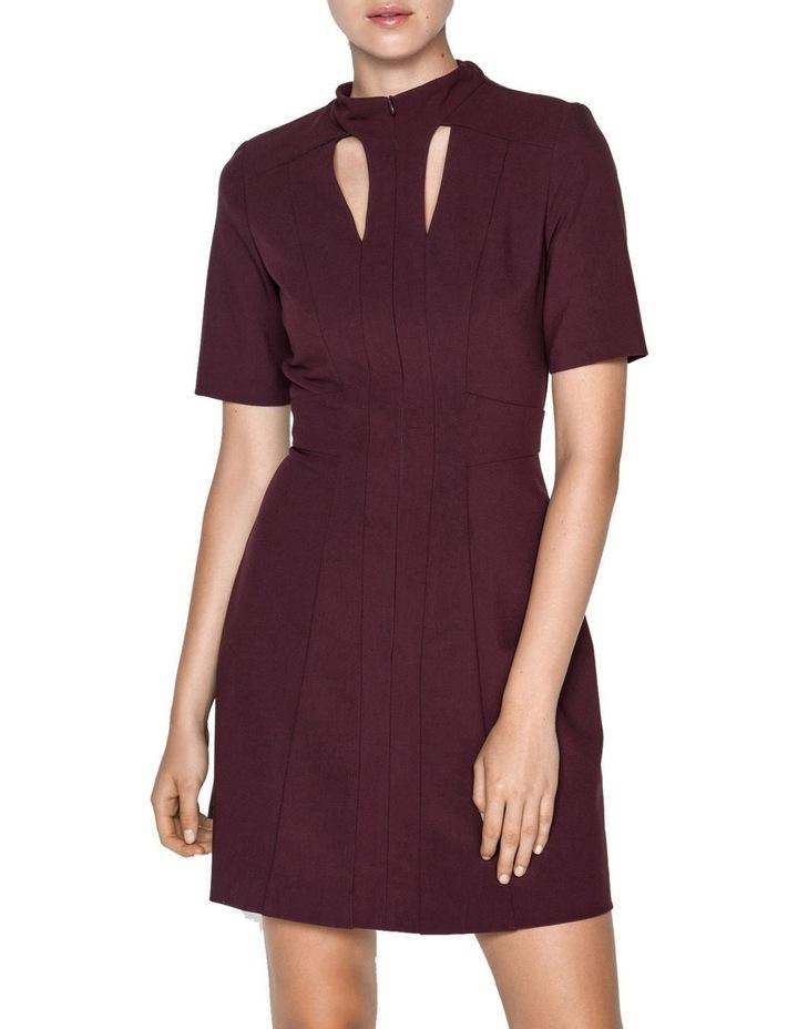 Plum Cut Out Mini Dress image 2