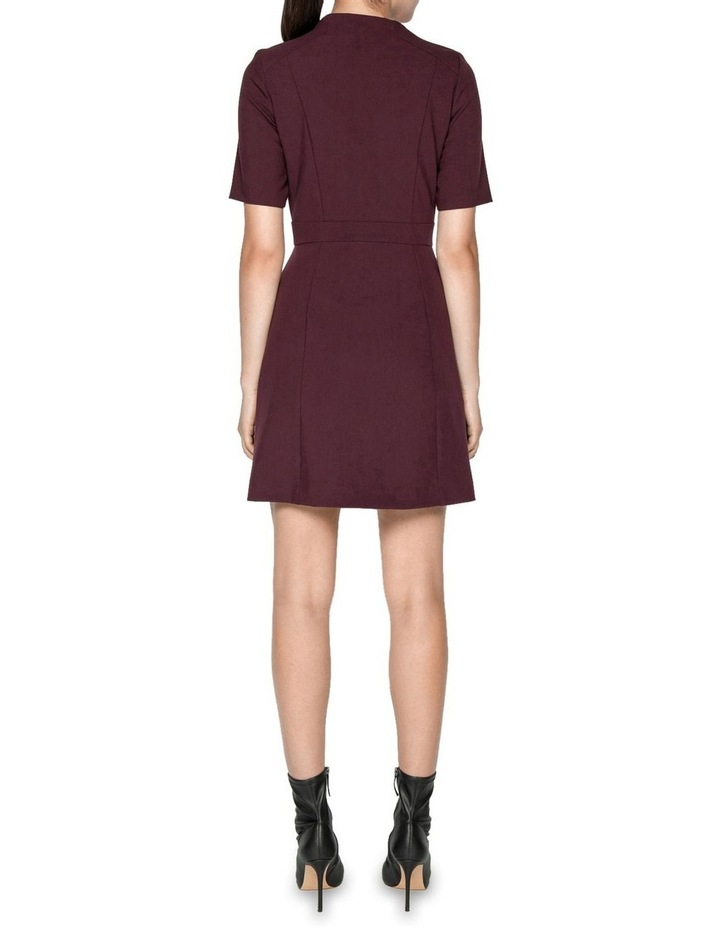 Plum Cut Out Mini Dress image 3