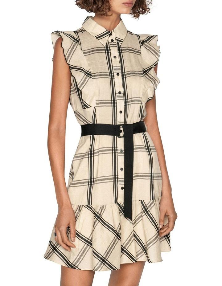 Frilled Sleeve Shirt Dress image 2