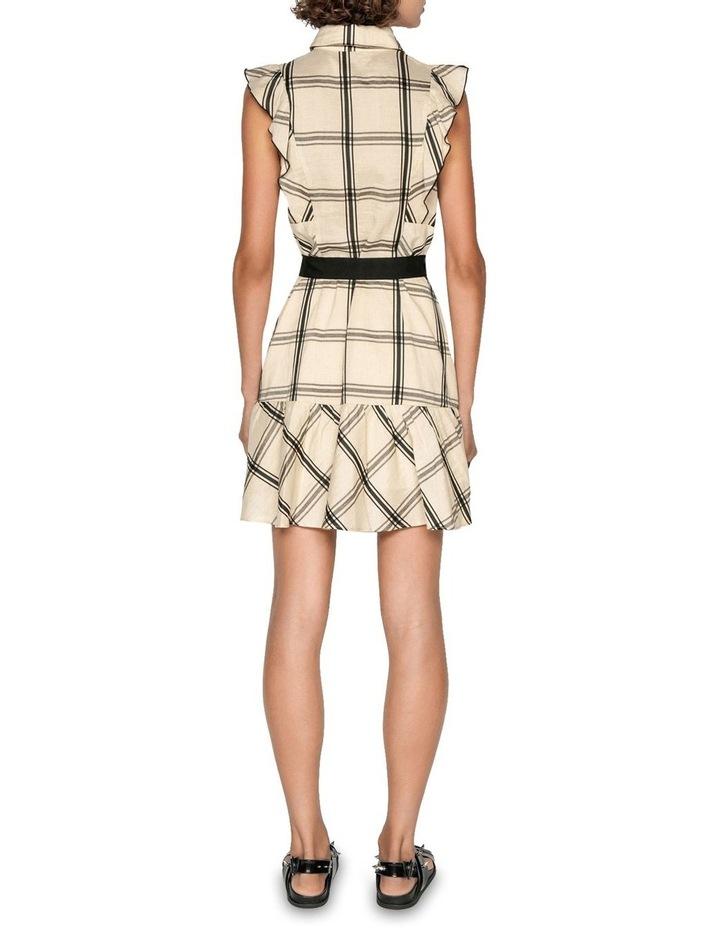 Frilled Sleeve Shirt Dress image 3