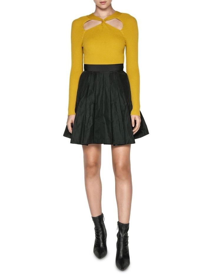 Pleated Mini Skirt image 1