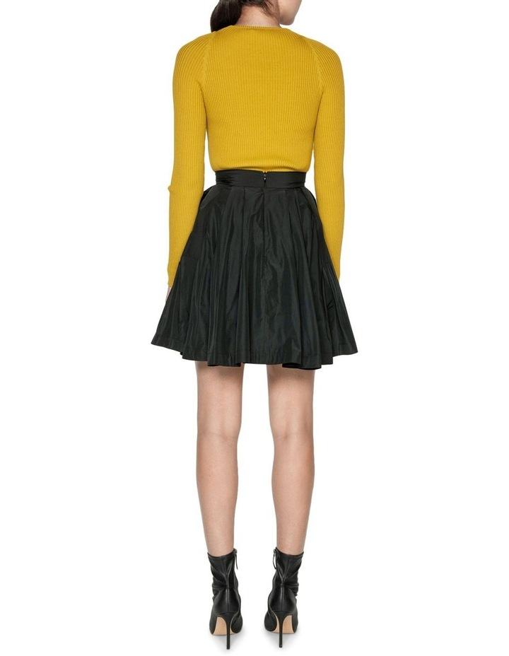 Pleated Mini Skirt image 3