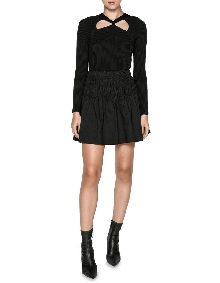 Cotton Ruched Waist Skirt image 1