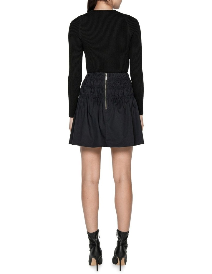 Cotton Ruched Waist Skirt image 3