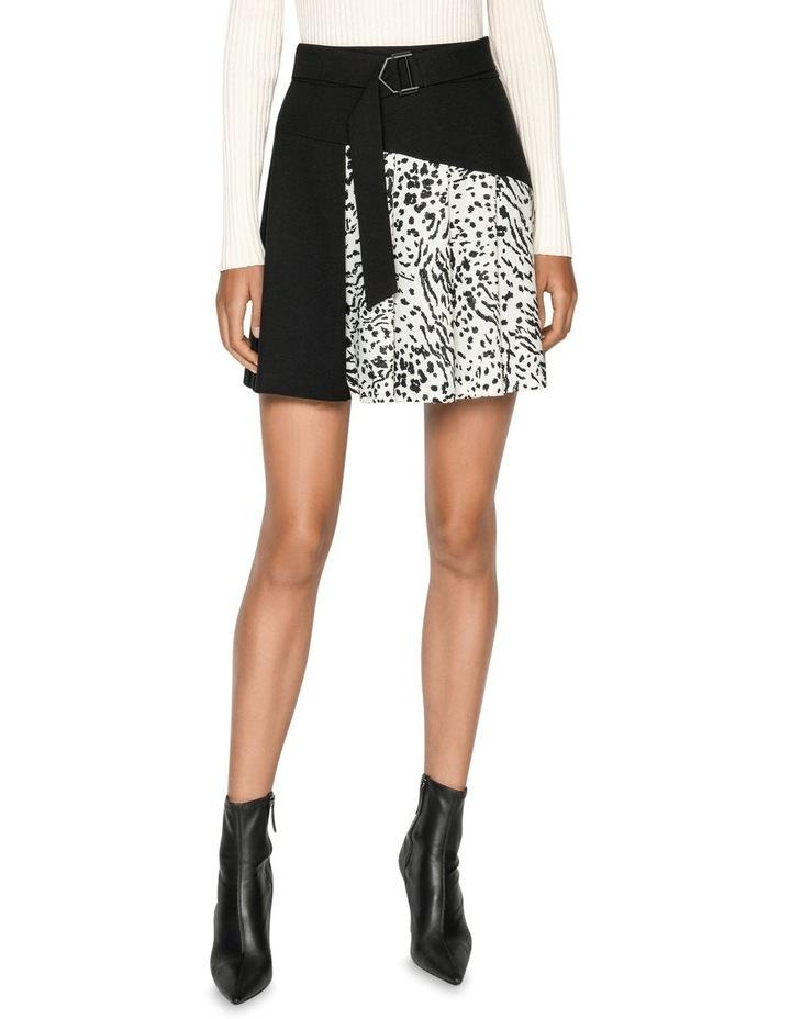 Monochrome Animal Mini Skirt image 2