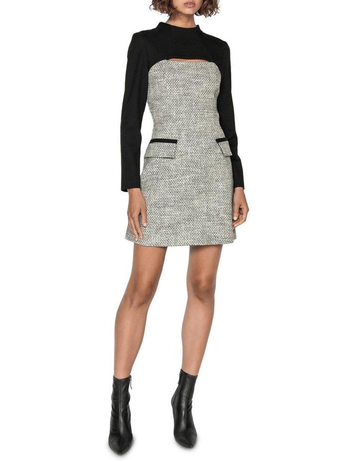 Tweed Keyhole Mini Dress image 1