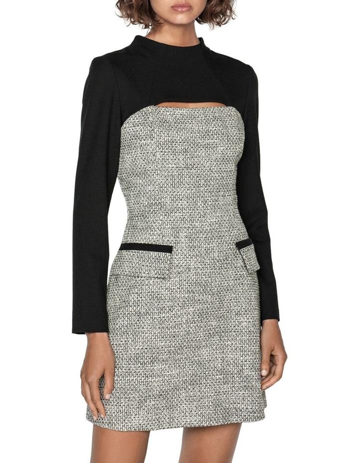 Tweed Keyhole Mini Dress image 2