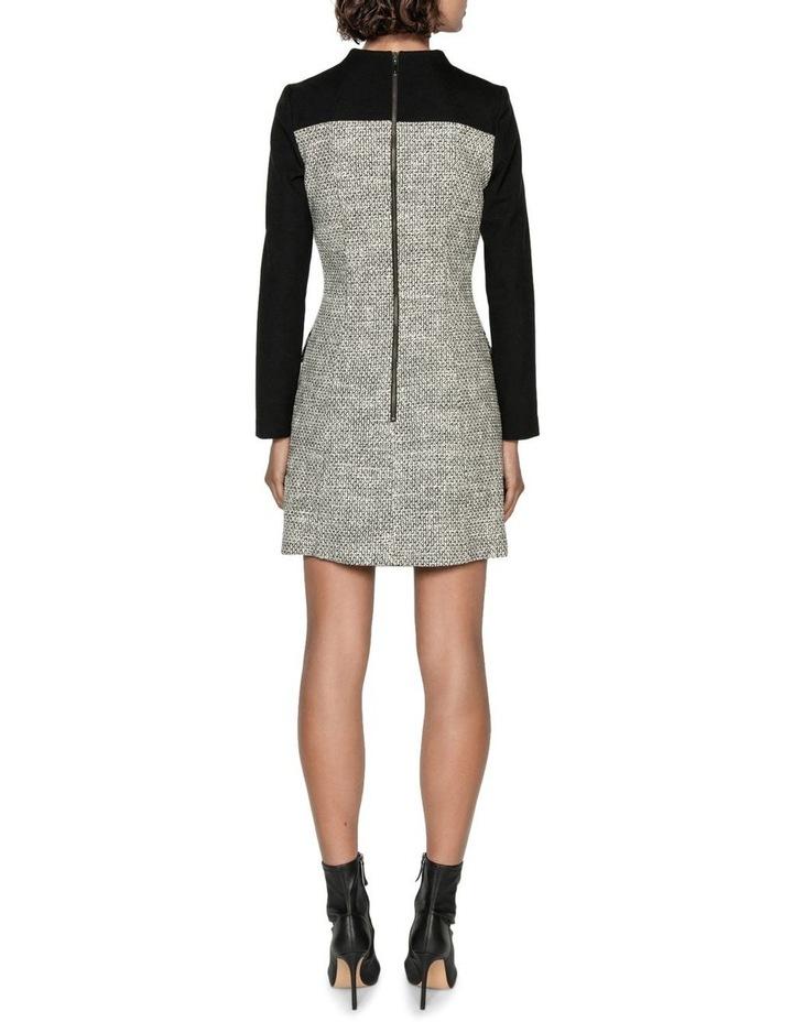 Tweed Keyhole Mini Dress image 3
