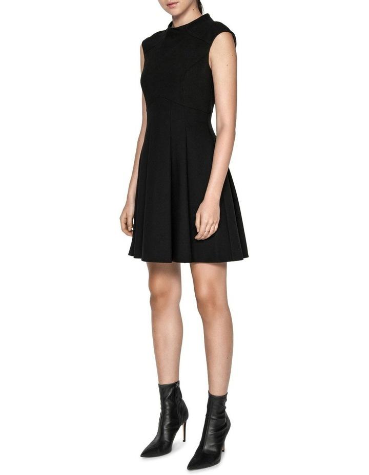 Soft Twill Funnel Neck Dress image 1