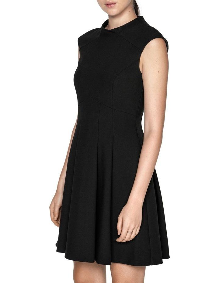 Soft Twill Funnel Neck Dress image 2