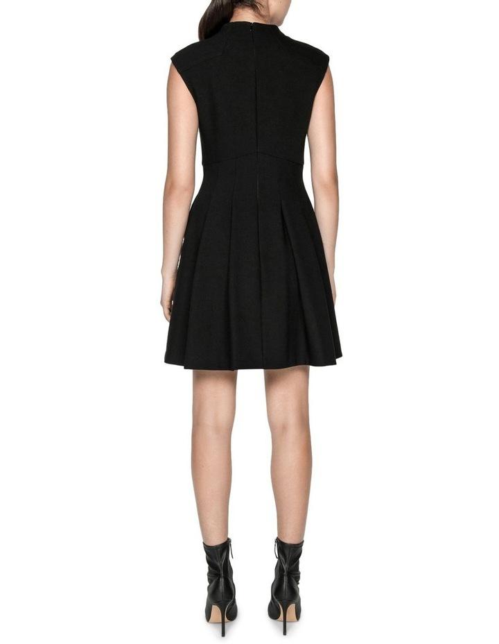 Soft Twill Funnel Neck Dress image 3