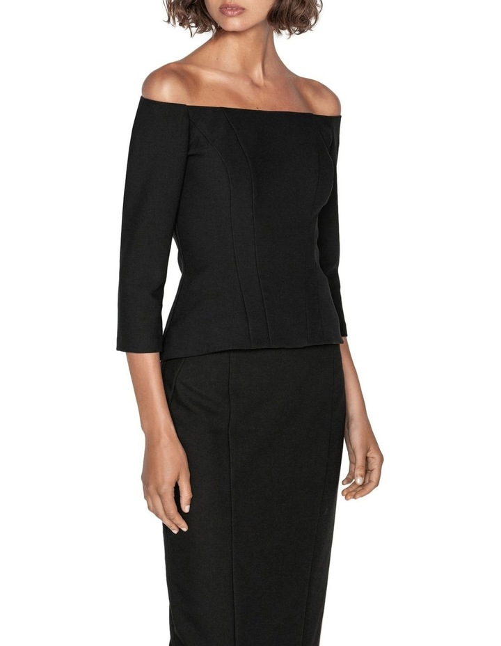 Soft Twill Off The Shoulder Top image 2