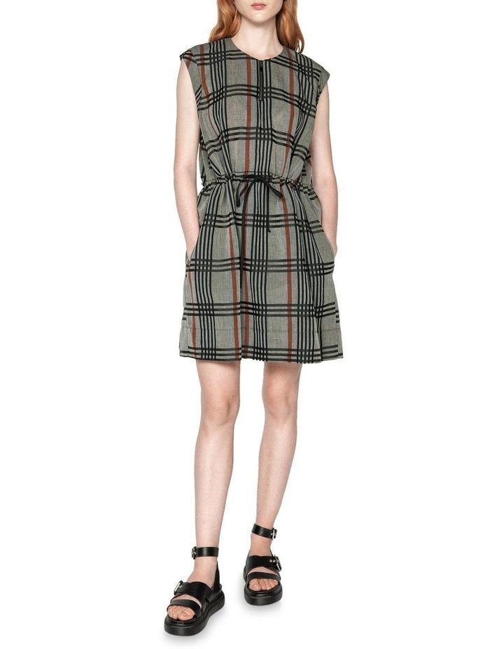 Linen Check Dress image 1