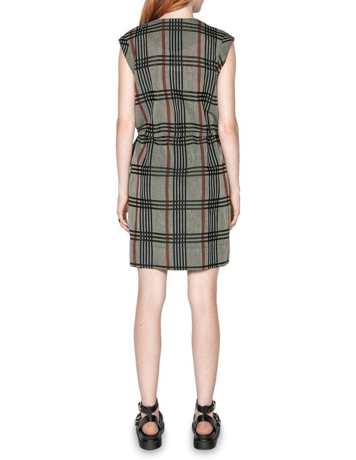 Linen Check Dress image 3