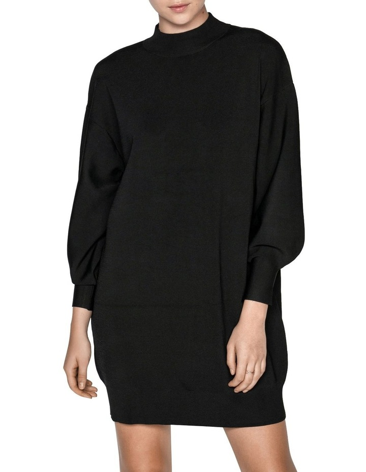 Structured Knit Sweater Dress image 2