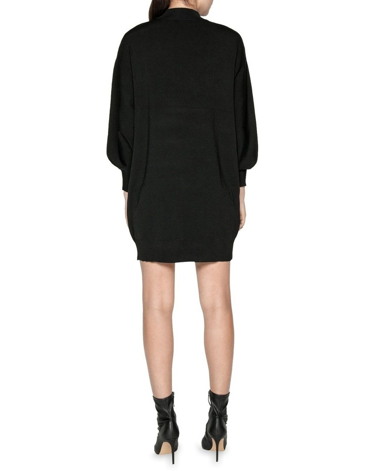 Structured Knit Sweater Dress image 3