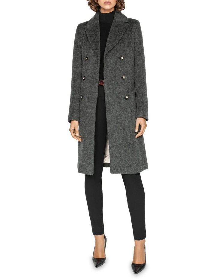 Charcoal Double Breasted Coat image 1