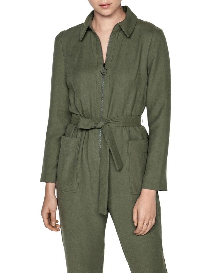 Linen Blend Jumpsuit image 2