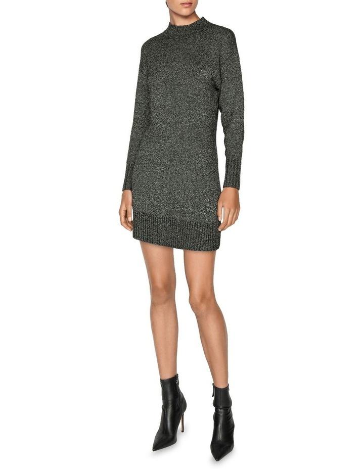 Boucle Knit Sweater Dress image 1