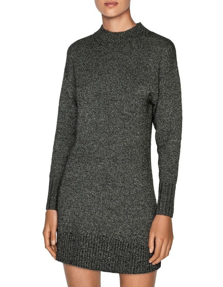 Boucle Knit Sweater Dress image 2