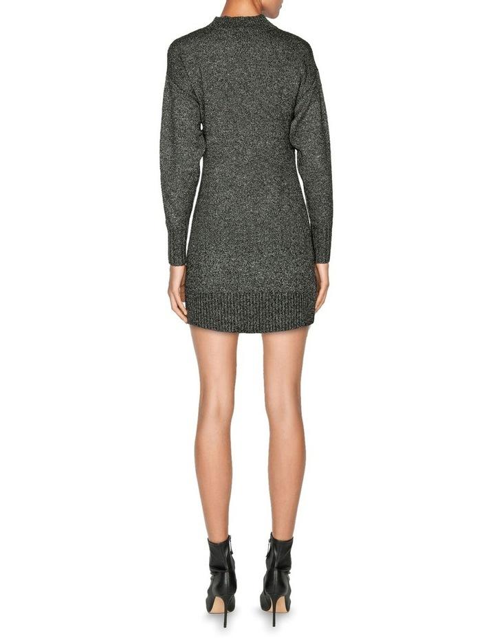 Boucle Knit Sweater Dress image 3