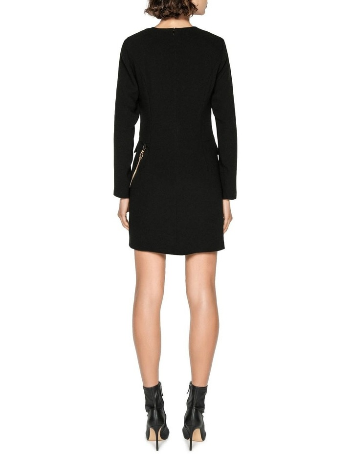 Chain Long Sleeve Shift Dress image 3