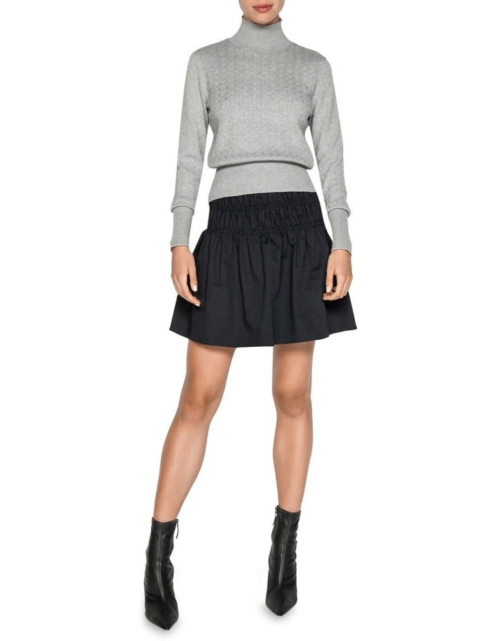 Textured Funnel Neck Sweater image 1
