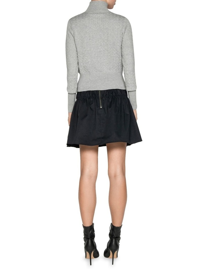 Textured Funnel Neck Sweater image 3