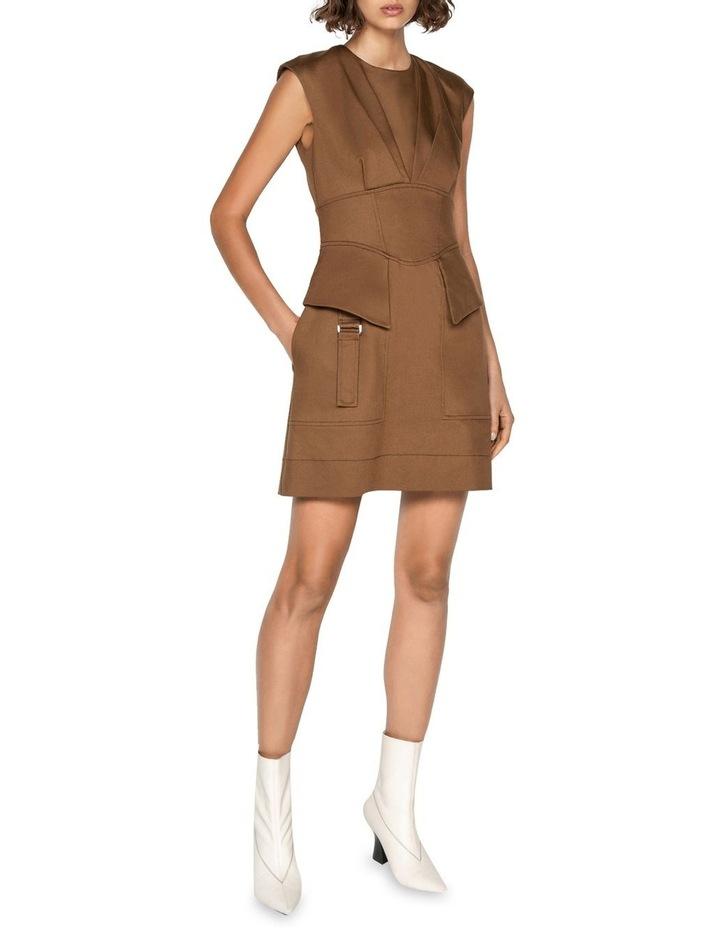 Cotton Utility Corset Dress image 1