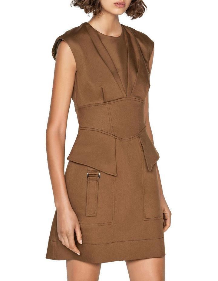 Cotton Utility Corset Dress image 2
