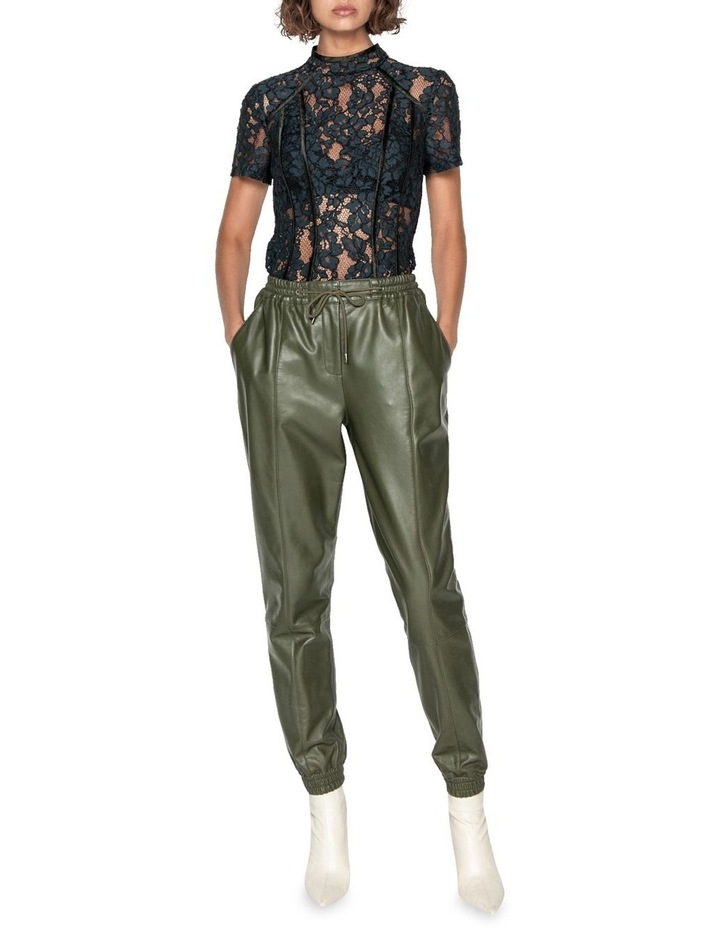 Leather Track Pant image 1