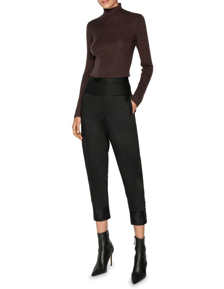 Merino Long Sleeve Rib Sweater image 1