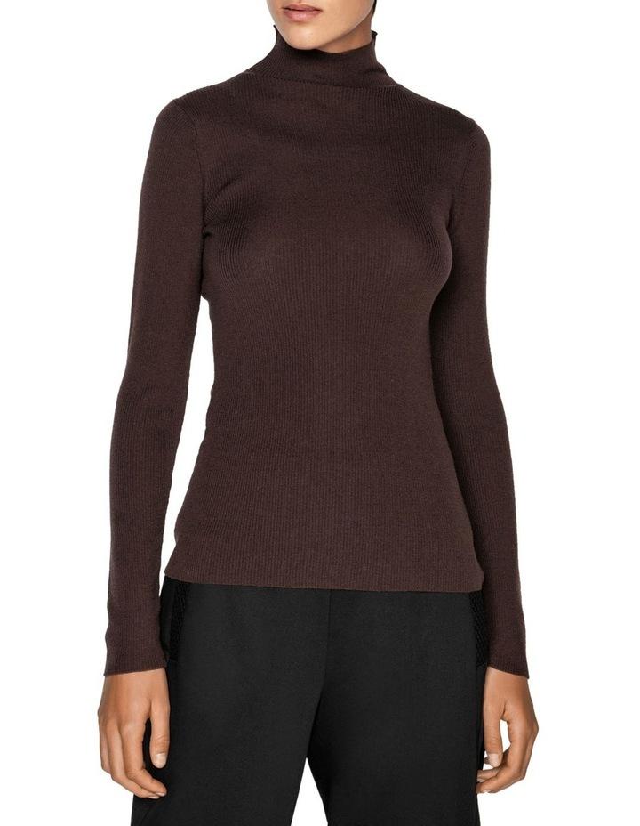 Merino Long Sleeve Rib Sweater image 2