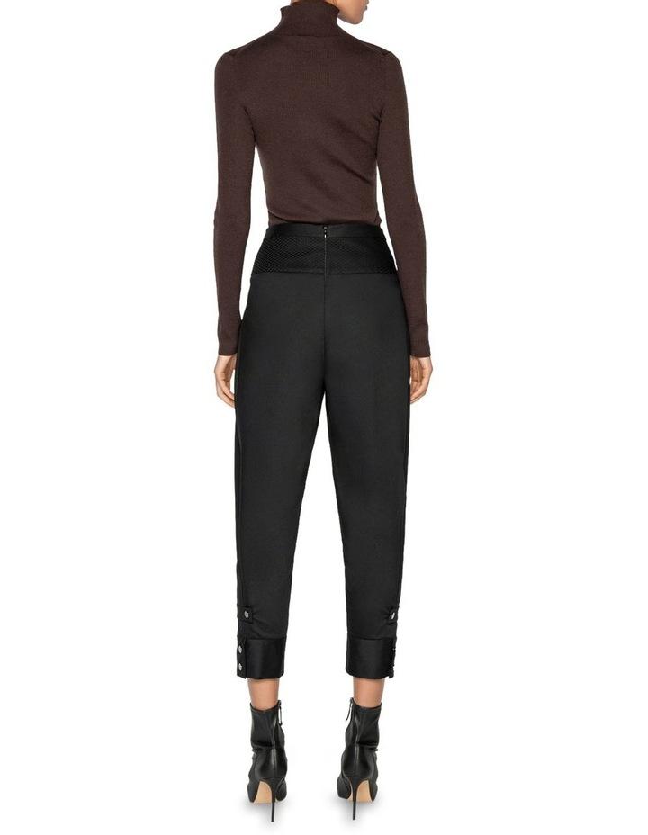 Merino Long Sleeve Rib Sweater image 3